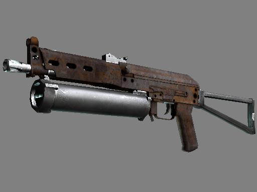PP-Bizon | Rust Coat (Battle-Scarred)