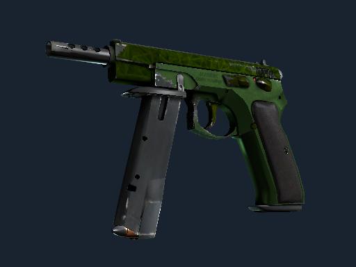 CZ75-Auto | Emerald Quartz (Field-Tested)