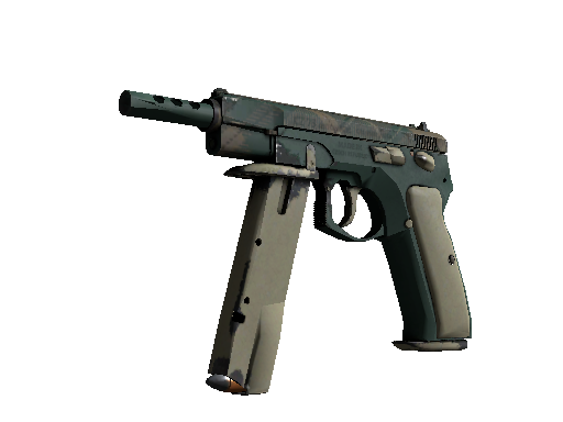 CZ75-Auto | Green Plaid (Well-Worn)