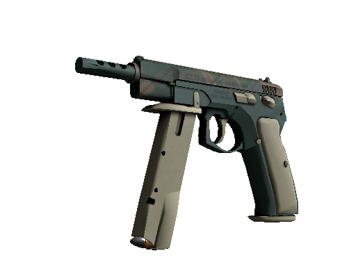CZ75-Auto | Green Plaid (Factory new)