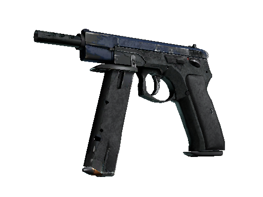 CZ75-Auto | Indigo (Battle-Scarred)