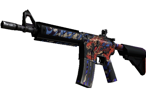 M4A4 | 龍王 (Dragon King) (Battle-Scarred)
