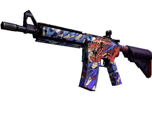 M4A4 | 龍王 (Dragon King) (Mininal Wear)