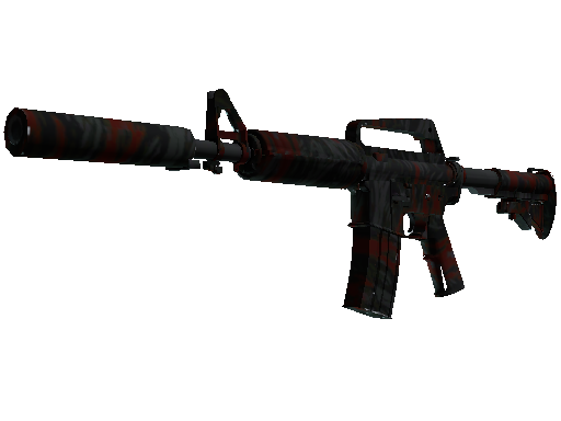 M4A1-S | Blood Tiger (Mininal Wear)