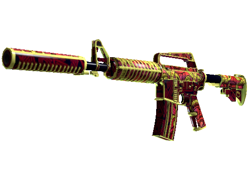 M4A1-S | Chantico&#39s Fire (Field-Tested)