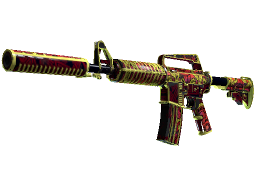 M4A1-S | Chantico&#39s Fire (Battle-Scarred)