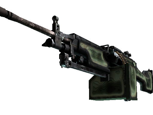 M249 | Deep Relief (Battle-Scarred)
