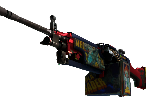 M249 | Nebula Crusader (Field-Tested)