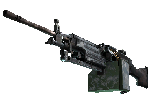 M249 | Blizzard Marbleized (Battle-Scarred)