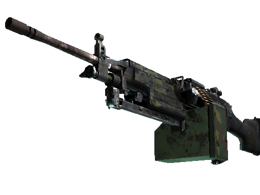 M249 | Jungle DDPAT (Battle-Scarred)