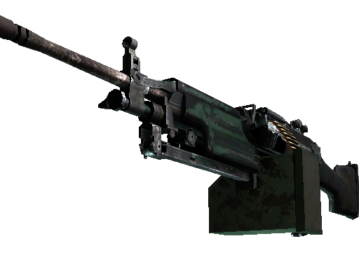 M249 | Jungle (Battle-Scarred)
