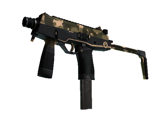 MP9 | Black Sand (Factory new)
