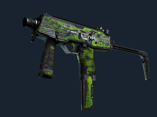 MP9 | Hydra (Battle-Scarred)