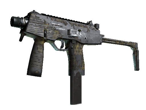 MP9 | Dry Season (Battle-Scarred)