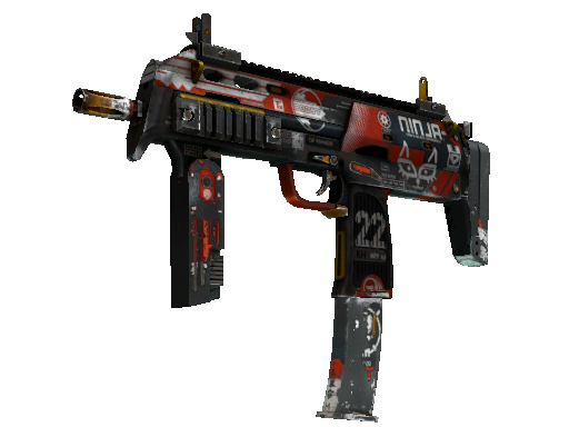 MP7 | Bloodsport (Battle-Scarred)