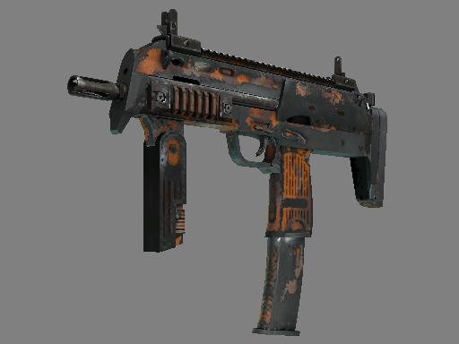 MP7 | Orange Peel (Battle-Scarred)