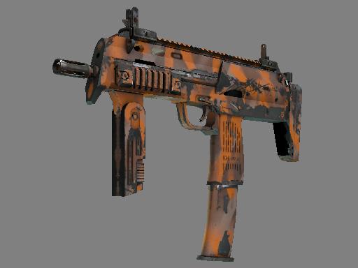 MP7 | Orange Peel (Field-Tested)