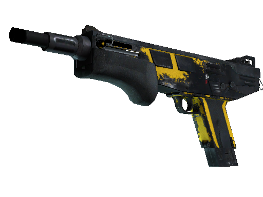MAG-7 | Bulldozer (Battle-Scarred)