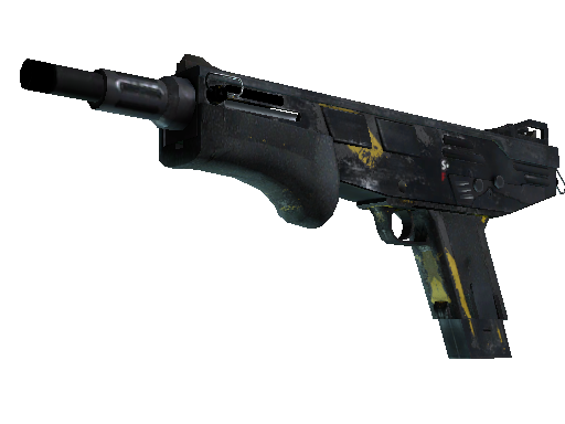 MAG-7 | Hazard (Battle-Scarred)