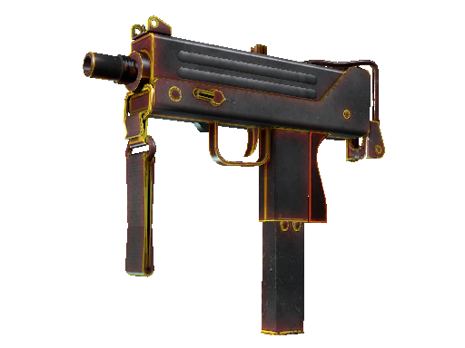 MAC-10 | Heat (Battle-Scarred)