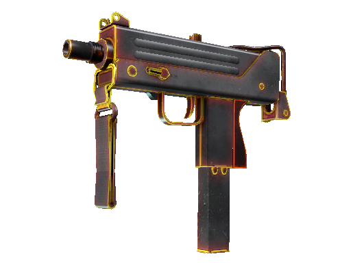 MAC-10 | Heat (Mininal Wear)