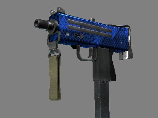 MAC-10 | Lapis Gator (Factory new)