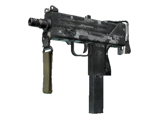 MAC-10 | Urban DDPAT (Battle-Scarred)