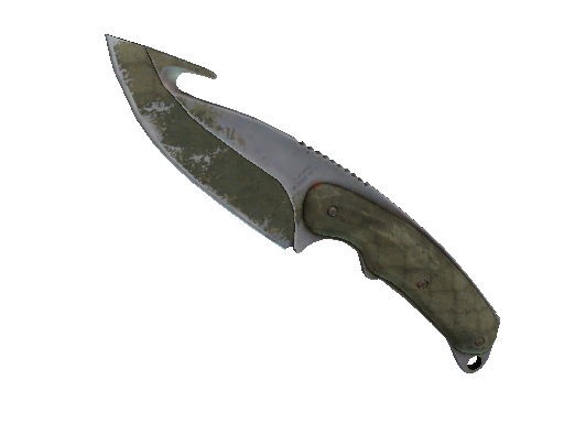 Gut Knife | Safari Mesh (Battle-Scarred)