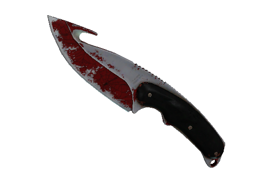 Gut Knife | Crimson Web (Battle-Scarred)