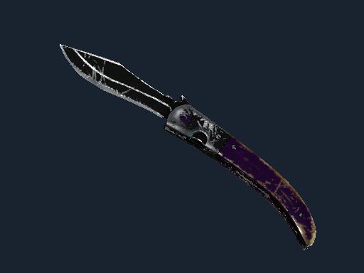 Navaja Knife | Ultraviolet (Battle-Scarred)
