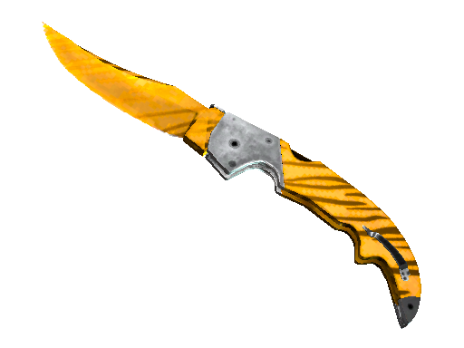 Falchion Knife | Tiger Tooth (Factory new)