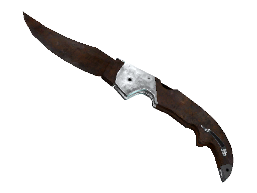 Falchion Knife | Rust Coat (Battle-Scarred)