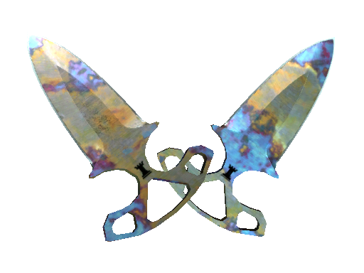 Shadow Daggers | Case Hardened (Factory new)