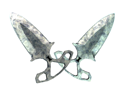 Shadow Daggers | Stained (Battle-Scarred)