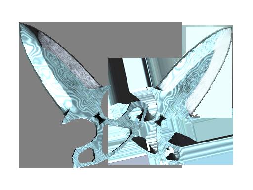 Shadow Daggers | Damascus Steel (Factory new)