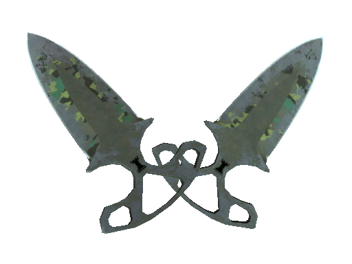 Shadow Daggers | Boreal Forest (Battle-Scarred)