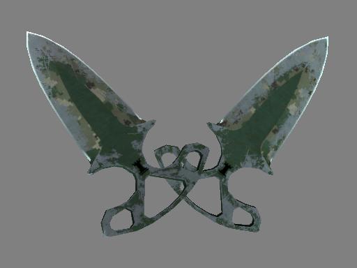 Shadow Daggers | Forest DDPAT (Battle-Scarred)