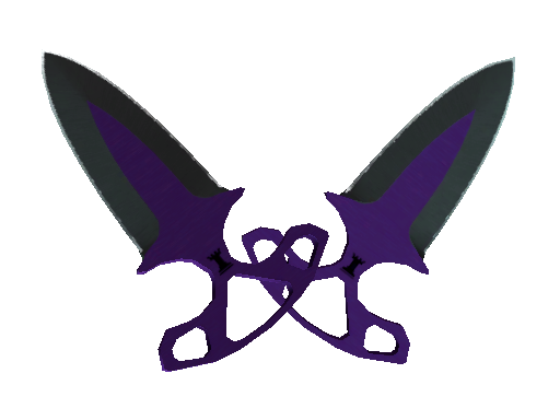 Shadow Daggers | Ultraviolet (Factory new)