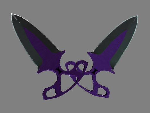 Shadow Daggers | Ultraviolet (Field-Tested)