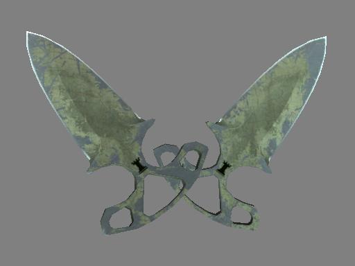 Shadow Daggers | Safari Mesh (Battle-Scarred)