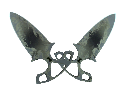 Shadow Daggers | Scorched (Battle-Scarred)