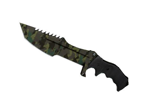 Huntsman Knife | Boreal Forest (Well-Worn)