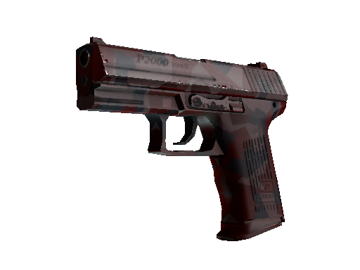 P2000 | Red FragCam (Mininal Wear)