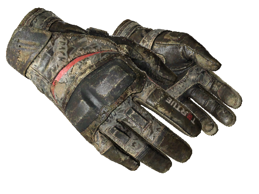 Moto Gloves | Boom! (Battle-Scarred)