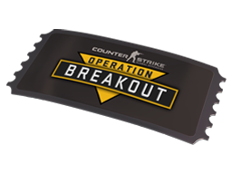 Operation Breakout All Access Pass (Factory new)