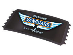 Operation Vanguard Access Pass (Factory new)