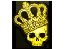 Sticker   Crown (Foil)