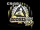 Sticker | GODSENT (Gold) | 2020 RMR