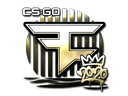 Sticker | FaZe (Gold) | 2020 RMR