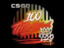Sticker | 100 Thieves | 2020 RMR